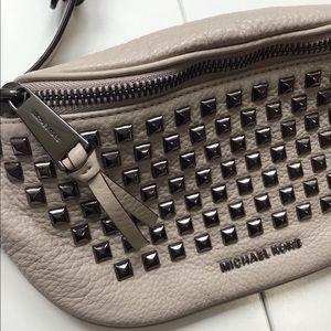 Michael Kors studded belt bag